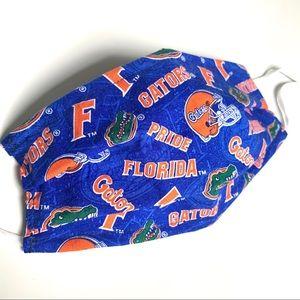 UF Florida Gators Pleated Face Mask - Large Adult